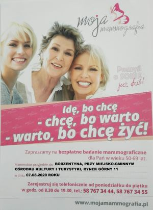 plakatBodzentyn